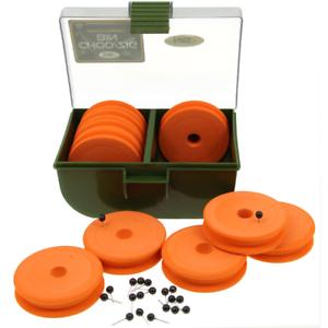 Amo-Zig-Rig-Bin-BOX-10-EVA-WINDERS-NGT-Tackle-Box-Pesca-della-Carpa
