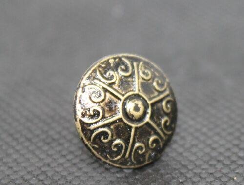 """Ziernägel Polsternägel 16 mm Ø Type 626 Hammerschlag Nägel 1//2 /"""" Länge in Bronze"""