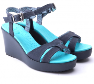 Couleur Wedge Crocs Et Sandal 78910 BleuTaille Leigh Jeans 7ybYgf6
