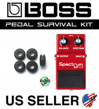 BOSS GUITAR PEDAL SURVIVAL KIT UNIVERSAL GROMMET RUBBER O-RING UPGRADE SET OF 5