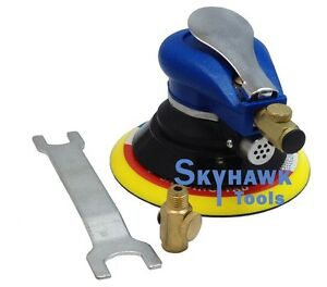 Details About 9000opm 6 1 4 Npt 90psi Air Random Orbital Palm Sander For Auto Body Woodwork