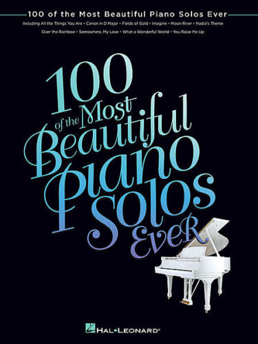 100 of the Most Beautiful Piano Solos Ever Sheet Music Piano Solo Song 000102787