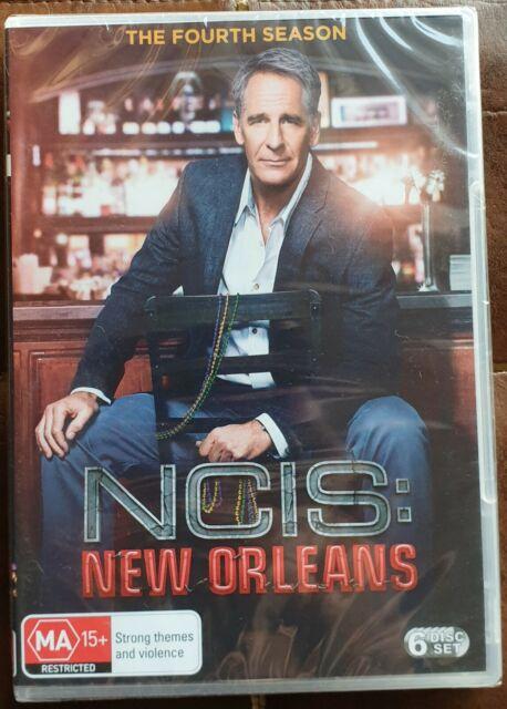 NCIS: New Orleans The Fourth Season Series 4 DVD Brand New Region 4