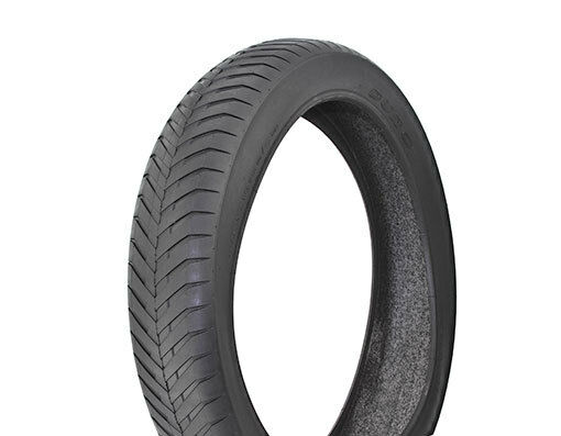 1 bicicleta neumático duro 20  X 4-1 4  Negro Negro de Parojo Lateral DB-9002 35 Psi 260997