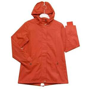 Red Wwj3837 Coated Thought Raincoat Cotton 4q1xwvAU