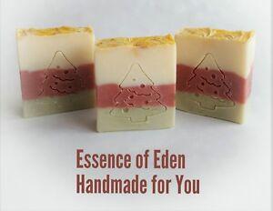 Gentle Handmade Natural Vegan-friendly Christmas Soap 100g Other Bath & Body Supplies 'christmas Wish' Health & Beauty