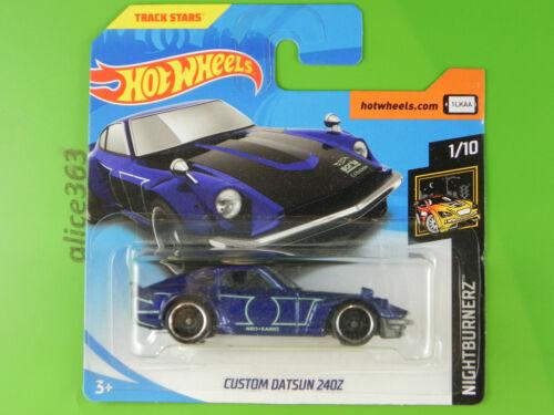 Hot Wheels 2018-Custom Datsun 240z-nightburnerz 15-nuevo en caja original