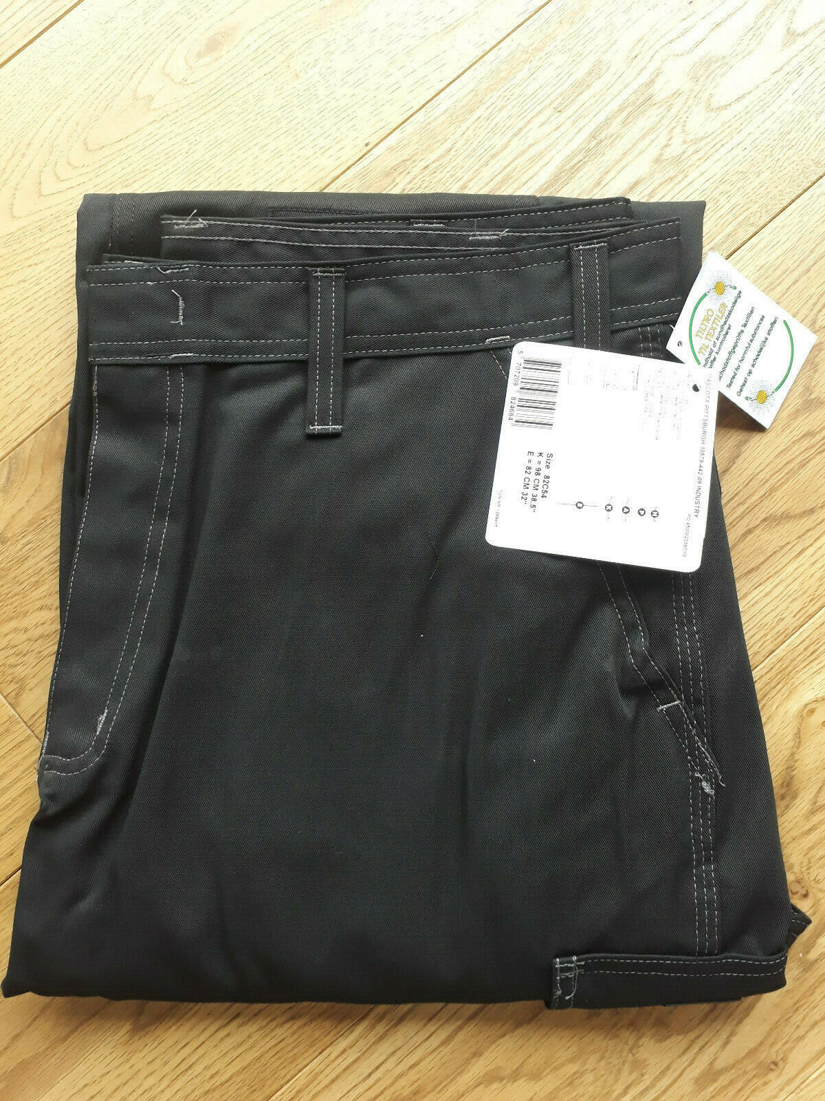 Mens MASCOT PITTSBURGH Industry Work Trousers Workwear 10579-422-09