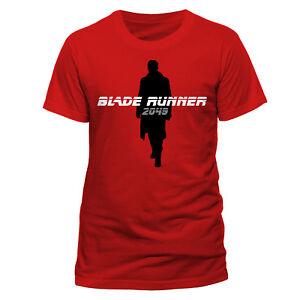 Official-Blade-Runner-2049-Silhouette-Officer-K-T-Shirt-Red-NEW-S-M-L-XL-XXL