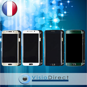 Ecran-complet-pour-Samsung-Galaxy-S6-Edge-G925F-vitre-tactile-LCD-chassis