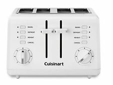 Cuisinart CPT-142FR Compact 4-Slice Toaster, White (Refurbished)