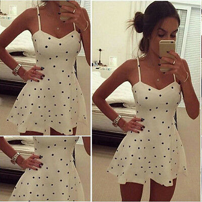 Summer Womens Sexy Sleeveless Bodycon Evening Party Cocktail Short Mini Dress