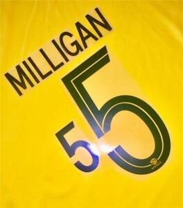 bb72e16dd 5 MILLIGAN NAME NUMBER SET FOR 2018 WORLD CUP AUSTRALIA SOCCEROOS ...
