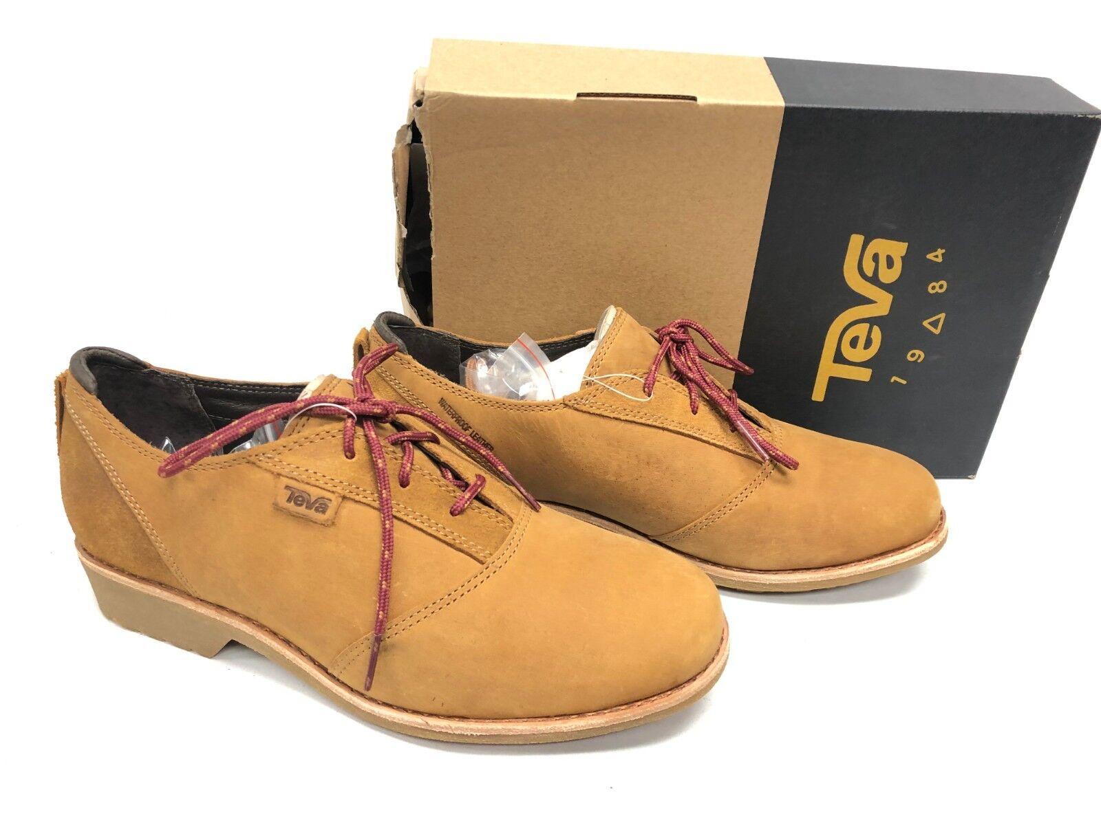 Teva Women's De La Vina Dos shoes Bison Lace Lace Lace Up 1019810 Oxford Waterproof sizes 92dc95