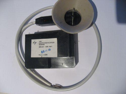 Hochspannungskaskade Typ HSK 103 High voltage multiplier