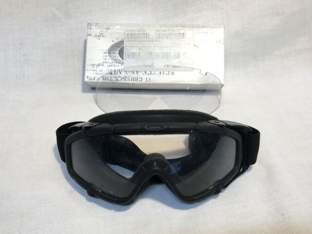 88332a47026 Oakley SI Ballistic Goggle Array Clear Military Matte Black Z87 Lens ...