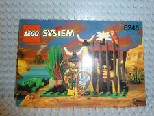 LEGO® Piraten Bauanleitung 6246 Crocodile Cage BA ungelocht Anleitung