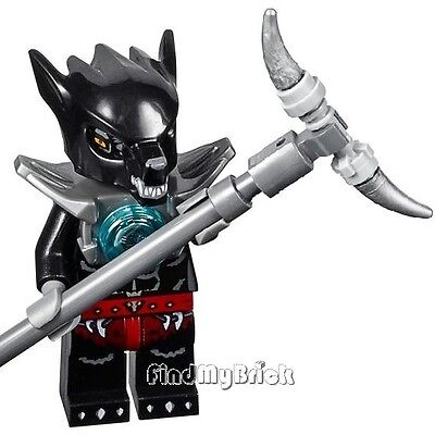 Wilhurt Minifigure /& Weapon 70009 NEW CM112 Lego Legends of Chima Wolf Tribe