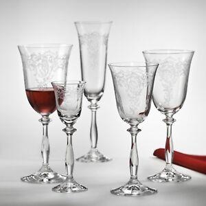 vino Bohemia Crystal sandra 6x 250 ml Weissweinglas White wine Kelch