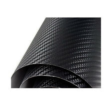 Bubble Free 3d Carbon Fibre Vinyl Perforated Car Wrapping Vinyl Large Sizes