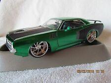 "Jada 1970 Plymouth "" Billboard Hemi "" Cuda 1/24 scale . SUPER RARE!"