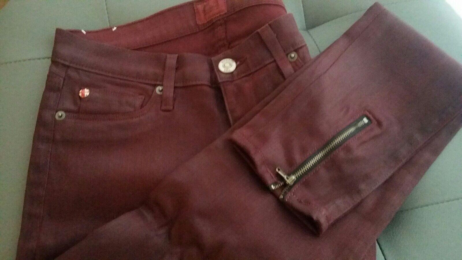 BN Hudson Juliette W28 32  inseam Refine Super Skinny Jeans