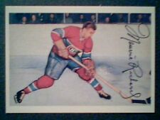 MAURICE RICHARD  '53-54 PARKHURST PROTOTYPE #24 REPRINT CARD