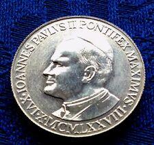 MEDAILLE  ANCIENNE DE JEAN PAUL II  EN ARGENT  1982 PONTIFEX MAXIMUS