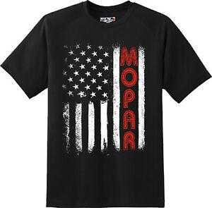 Mopar-Flag-America-Motor-Car-Sports-Racing-Gift-T-Shirt-New-Graphic-Tee