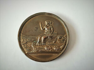 ANTIQUE-BRONZE-WISHAW-PHOTOGRPHIC-ASSOCIATION-MEDAL-1907-8
