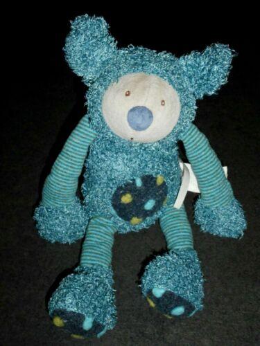 Doudou Peluche Baba Le Koala Bleu Les Zazous Moulin Roty Grand Modèle TTBE