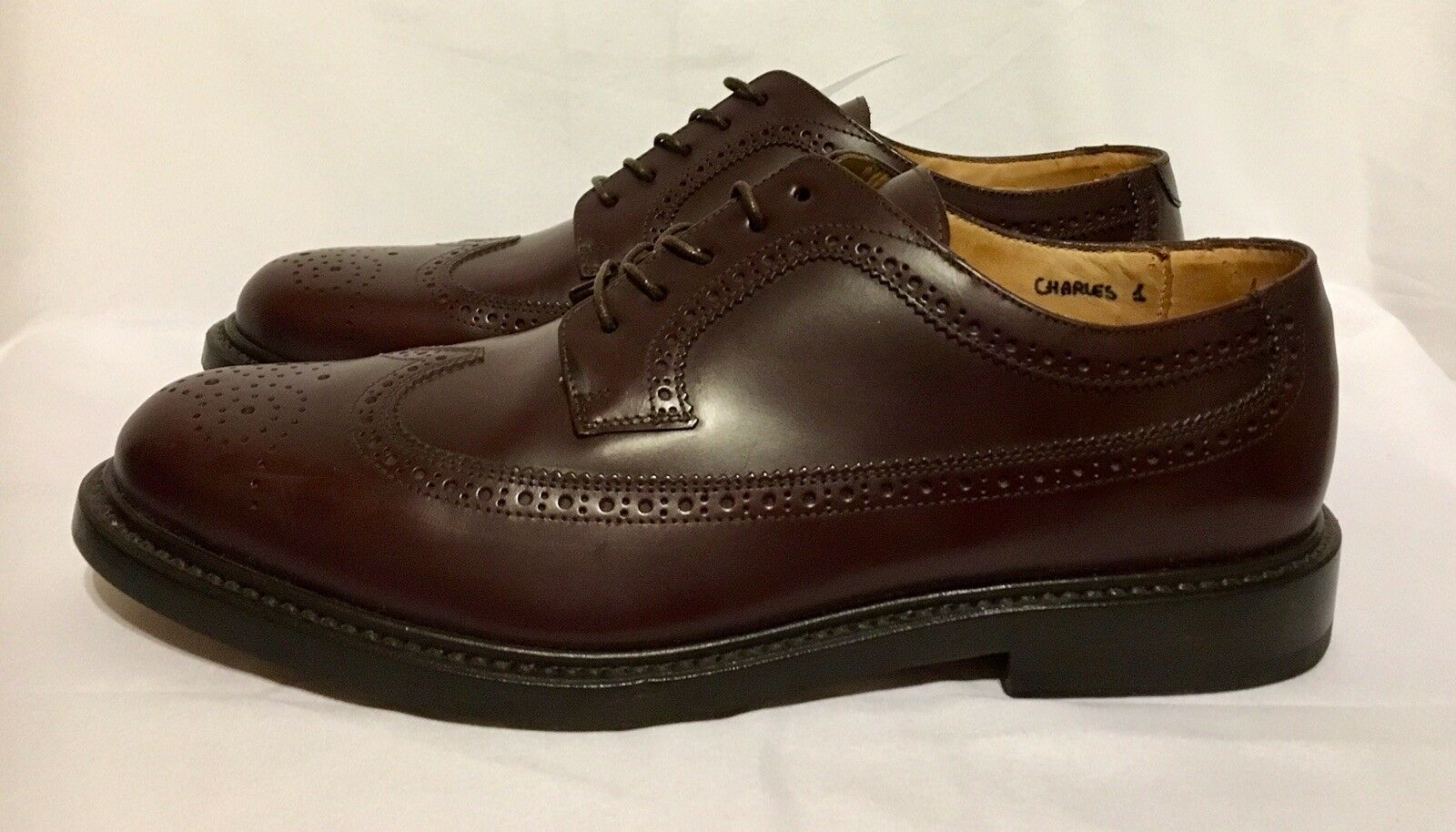 Gant Charles 1  Brown Leather Derby shoes size 8