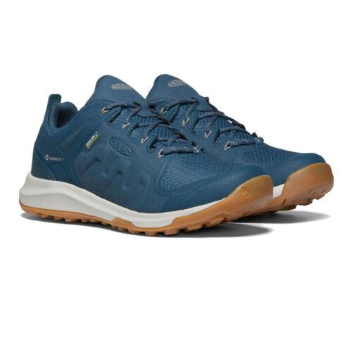 Keen Femme Explorer Imperméable Chaussures De Marche-Bleu Marine Sports Outdoors