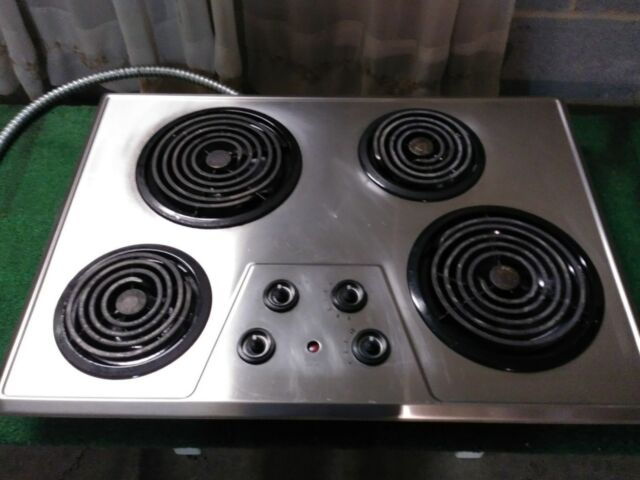 Ge Jp328skss 30 Electric Cooktop