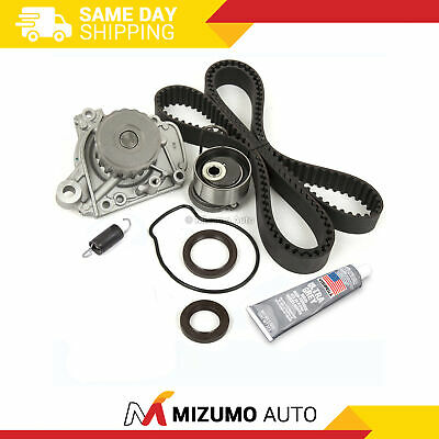 Fits 01-05 Honda 1.7 SOHC 16V VTEC D17A1 D17A2 D17A6 D17A7 Timing Belt Kit AISIN Water Pump Valve Cover Gasket