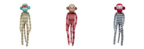 Boyle Animal Plush Soft Toys Stripe Monkey 70cm Children Gift Desgin Varied