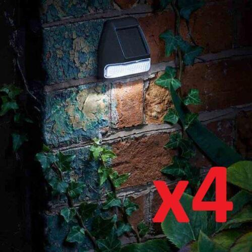 Smart Garden Fence 4 Pack Wall /& Post 3 Lumen Light