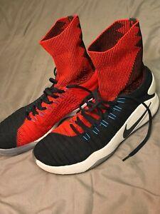 Nike-Hyperdunk-2016-Flyknit-034-USA-034-Size-12-Basketball-Shoes-10-10-Condition