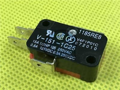 NEW 10Pcs Omron Micro Switch V-151-1C25 V1511C25
