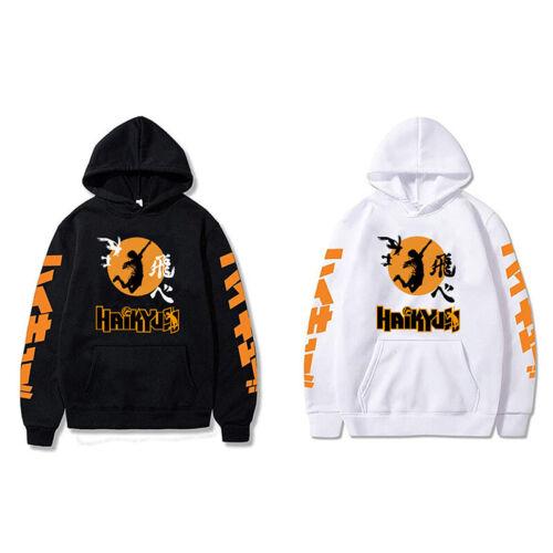 Karasuno High School Volleyball Club Hoodie Pullover Sweatshirt Anime Haikyuu!