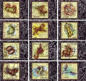 Set-12-Postcards-Zodiac-Constellations-astrology-sky-map-illustrations