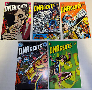 VF-DNAgents-Comic-Book-Lot-Of-5-3-4-5-6-7-1983
