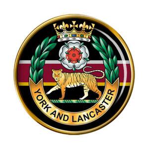 York-et-Lancaster-Regiment-Armee-Britannique-Broche-Badge
