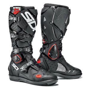 6756bd6ff595a La imagen se está cargando Sidi-CROSSFIRE-2-SRS -Negro-Negro-Motocross-Enduro-