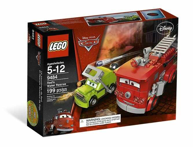 LEGO® Cars 9484 ROT in Aktion NEU OVP_ ROT's Water Rescue NEW MISB NRFB