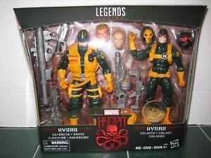Marvel Legends Exclusive Hydra Set Enforcer Brute And Soldier Scellée