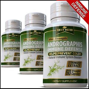 Andrographis-PURE-Extract-IMMUNE-SYSTEM-DEFENCE-SUPPORT-HERBAL-Capsules-Pills