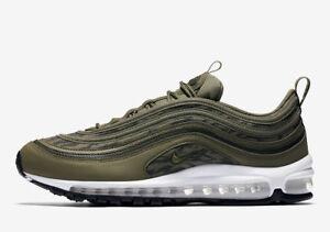 Nike Air Max 97 AOP Men's Shoes Medium Olive aq4132 200