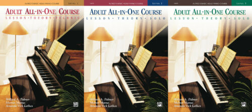 Alfred/'s Basic Adult All-in-One Course Collection 1-2-3 Learn How to Play