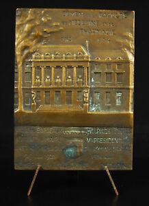 Medaglia-1934-Clement-Sigalas-Vista-Facolta-Della-Medicina-amp-Farmacia-Bordeaux